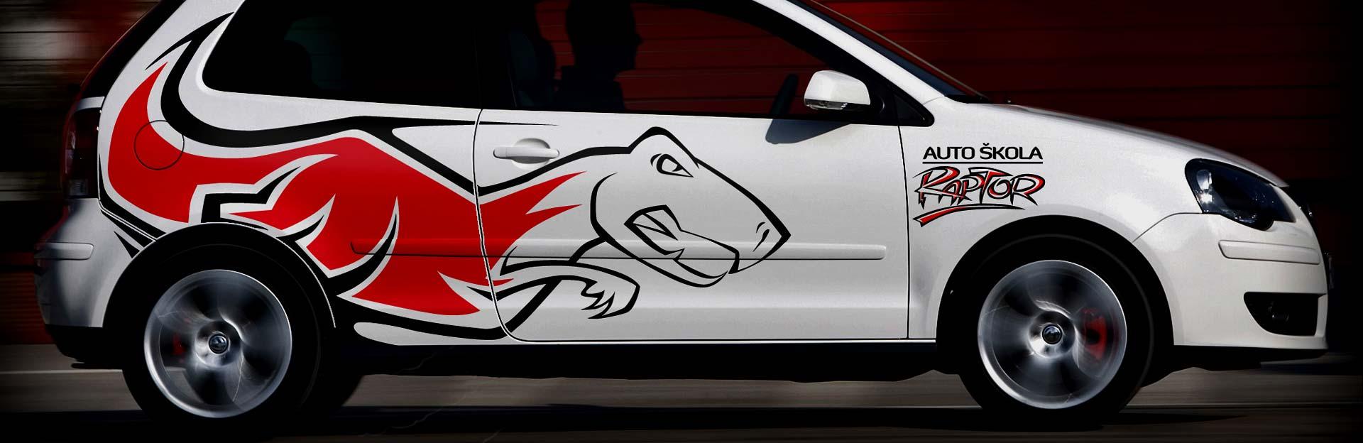 vozni park auto skole raptor